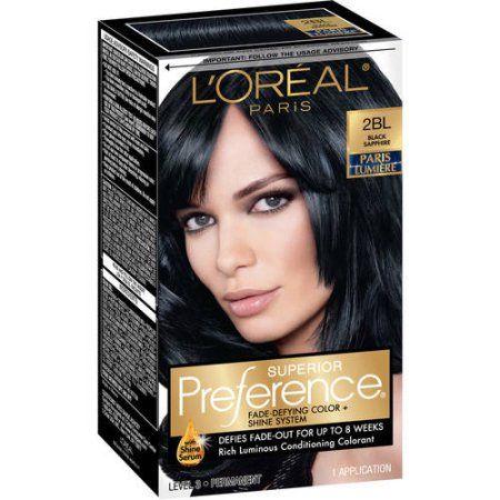Beauty Black Hair Dye Permanent Hair Color Blue Black Hair Dye