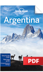 EBook Travel Guides And PDF Chapters From Lonely Planet Patagonia - Argentina map lonely planet