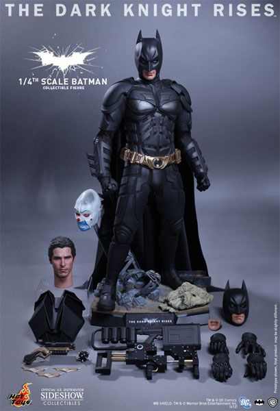 Batman Quarter Scale Figure Hot Toys Sideshowcollectibles Com