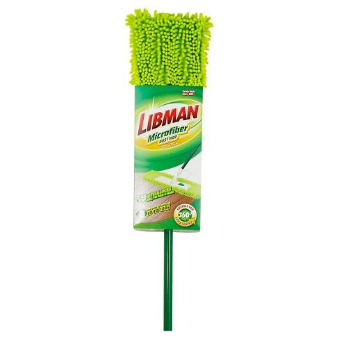 Libman Microfiber Dust Mop Adult Unisex Green Protecting Your Home Car Vacuum