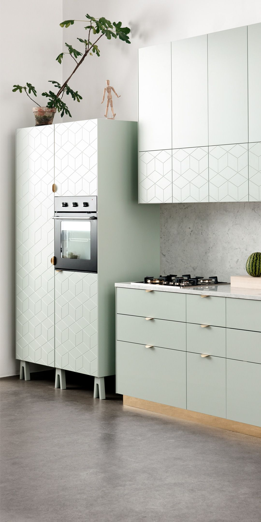 Best Kitchen Built On Ikea Metod Cabinets Get Fronts Handles 640 x 480