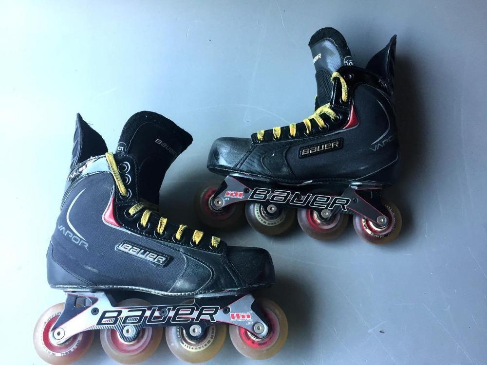 Bauer Vapor Rx25 Inline Skates Youth Size 5 5r Shoe6 5 Bauer Inline Skating Skate Roller Hockey Skates