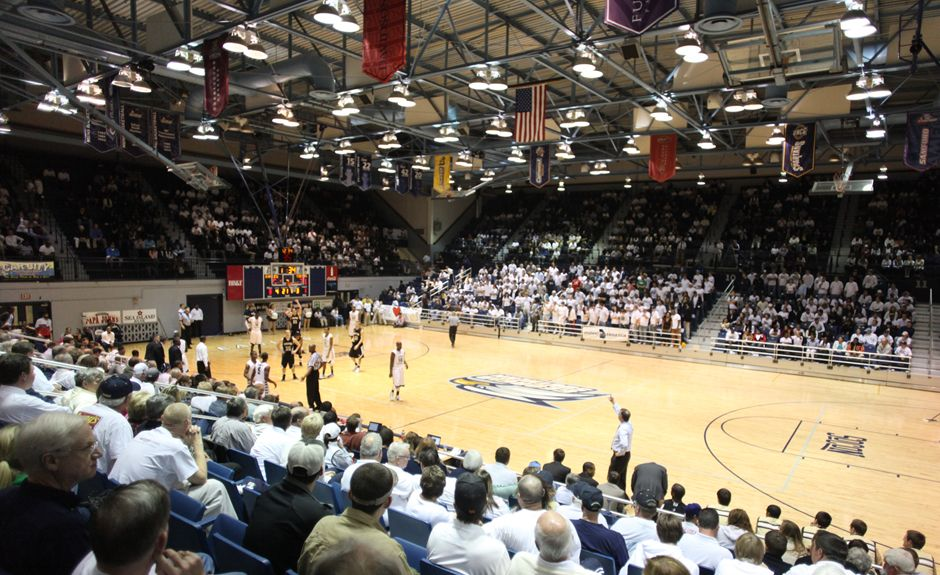 Hanner Fieldhouse At Georgia Southern University Georgia Southern University Georgia Southern Basketball