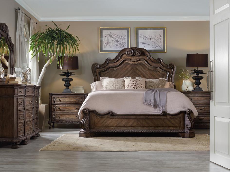 Rhapsody Panel Bed King Bett Bedroom Furniture Sets