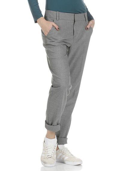 Pantalon Slim Batiya Gris By Comptoir Des Cotonniers