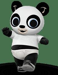 Bing coco. Bunny character pando amigurumi