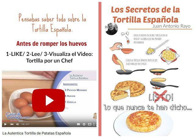 De Mesa En Mesa Revista Gastronomica: LOS SECRETOS DE LA TORTILLA ESPAÑOLA.  Por Juan An...