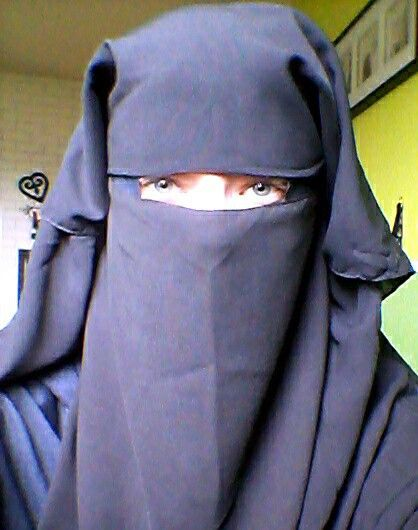 Blue Eyes Blue Niqab 3 Niqab Most Beautiful Images Modest
