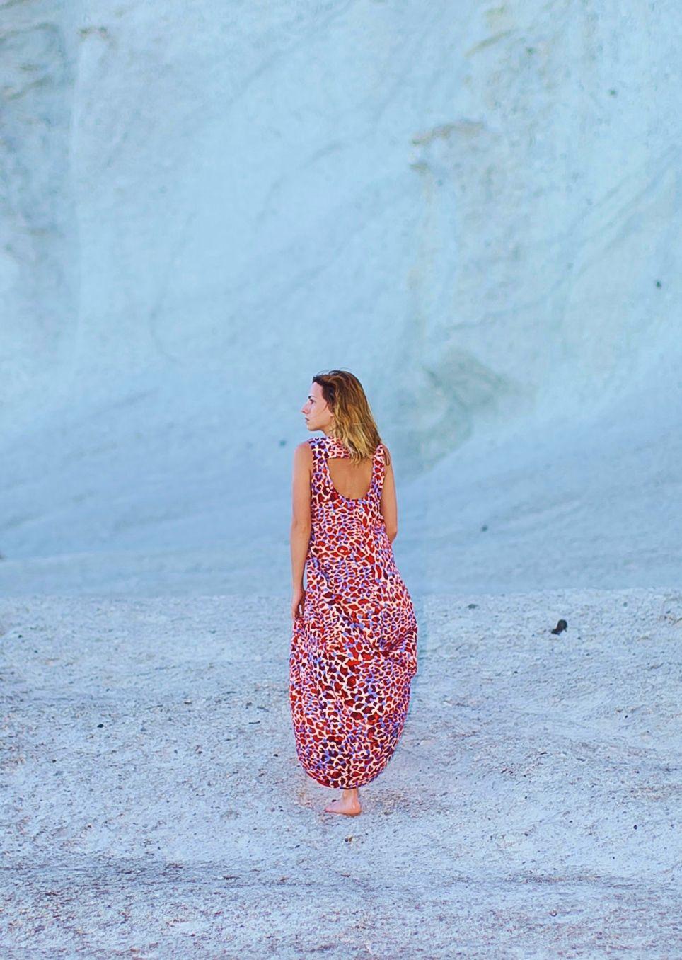 Beach: Hoy comparto con vosotr@s una sesión de fotos en la playa, cuyo único protagonista es el vestido.