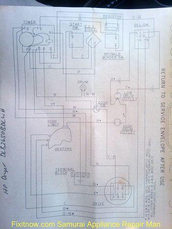 Hotpoint Dryer DLB2650BDLWH Wiring Diagram | Diagram, Hotpoint, WirePinterest