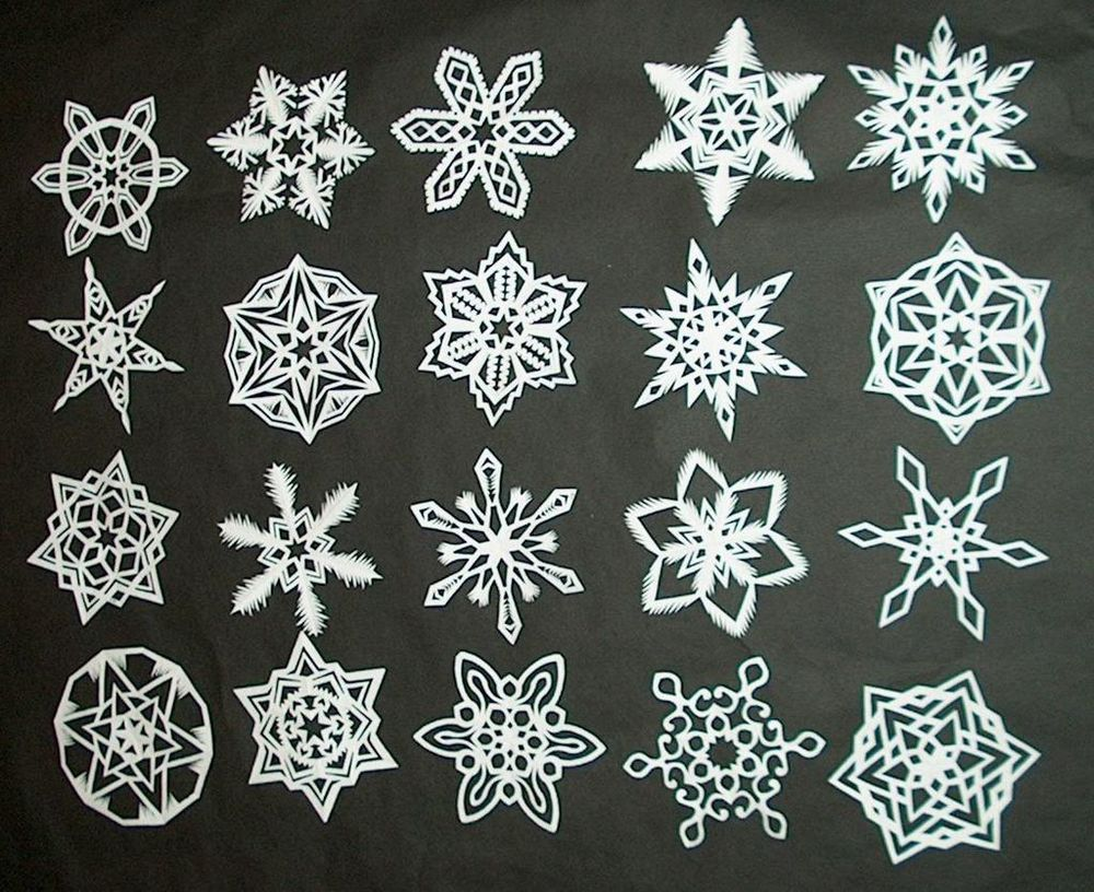Simply Stunning Paper Snowflakes Paper Snowflakes Tutorials And