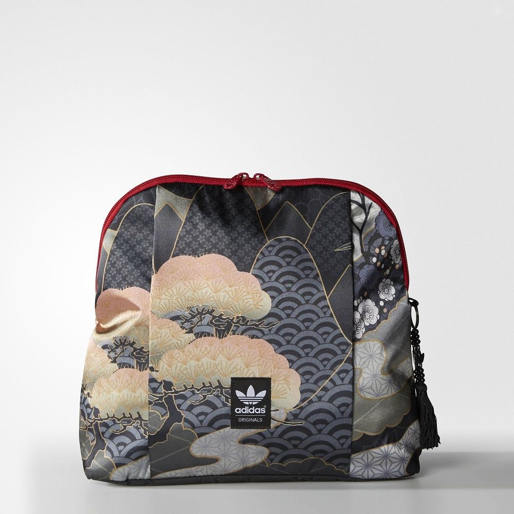 c0c4bd934e adidas Women Originals Rita Ora Asian Arena Backpack Color Black (AJ8179)  This women s backpack is inspired by the world of Japanese geishas.
