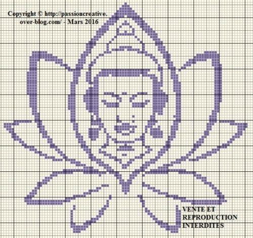 Lotus Flower Cross Stitch Cross Stitch Embroidery Pinterest