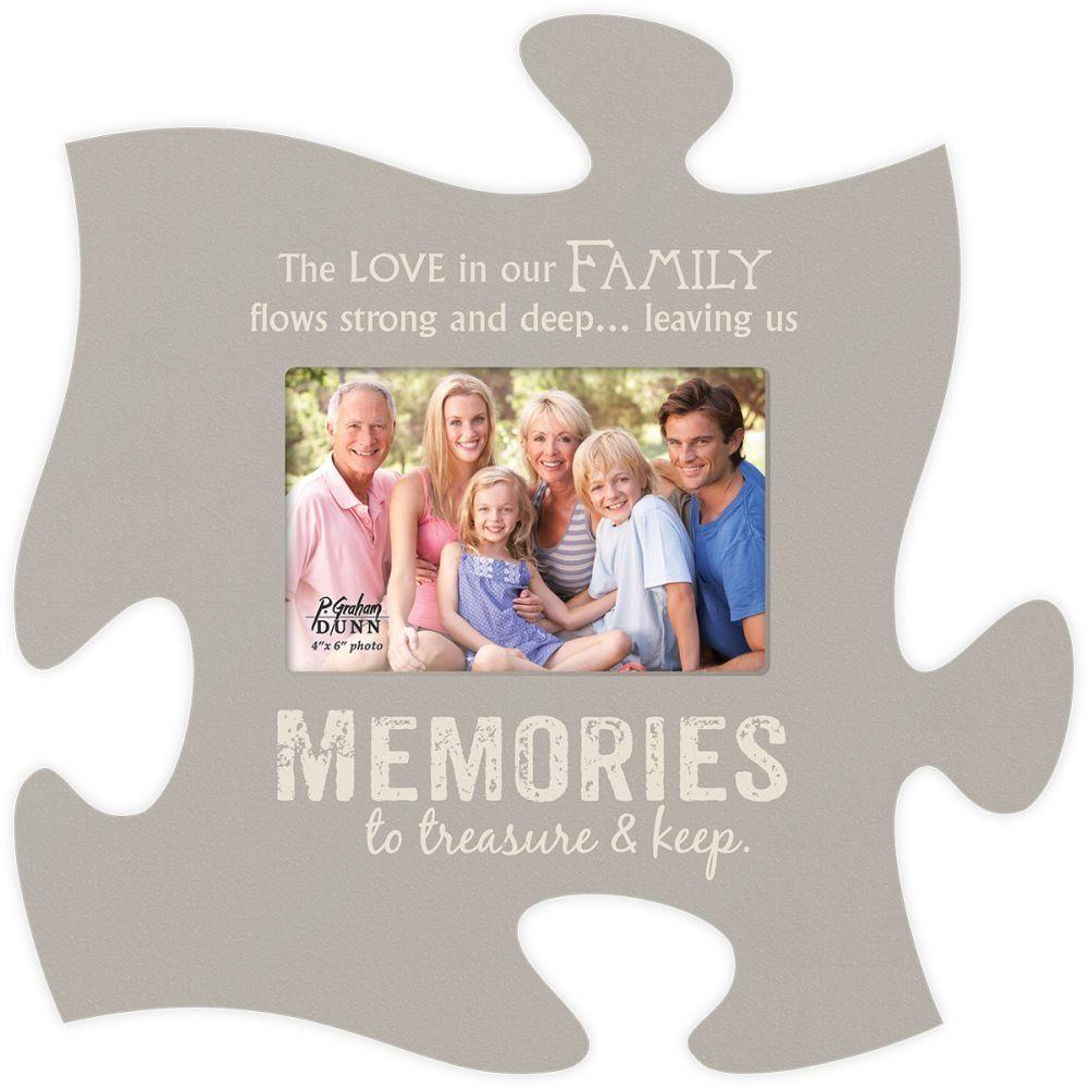 Memories Puzzle Photo Frame | Puzzle frame, Frame, Puzzle ...