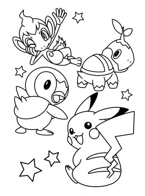 piplup coloring pages | Pin by Shreya Thakur on Free Coloring Pages | Pokemon ...