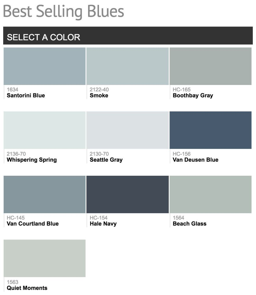 Popular Bedroom Paint Colors Blue Paint Colors Blue Gray Paint