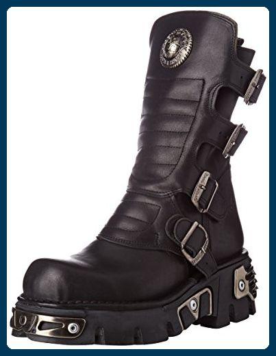 38 373x Womens Leather Rock S28 Eu Crust M New Black Reactor Boots gvatOqqx5