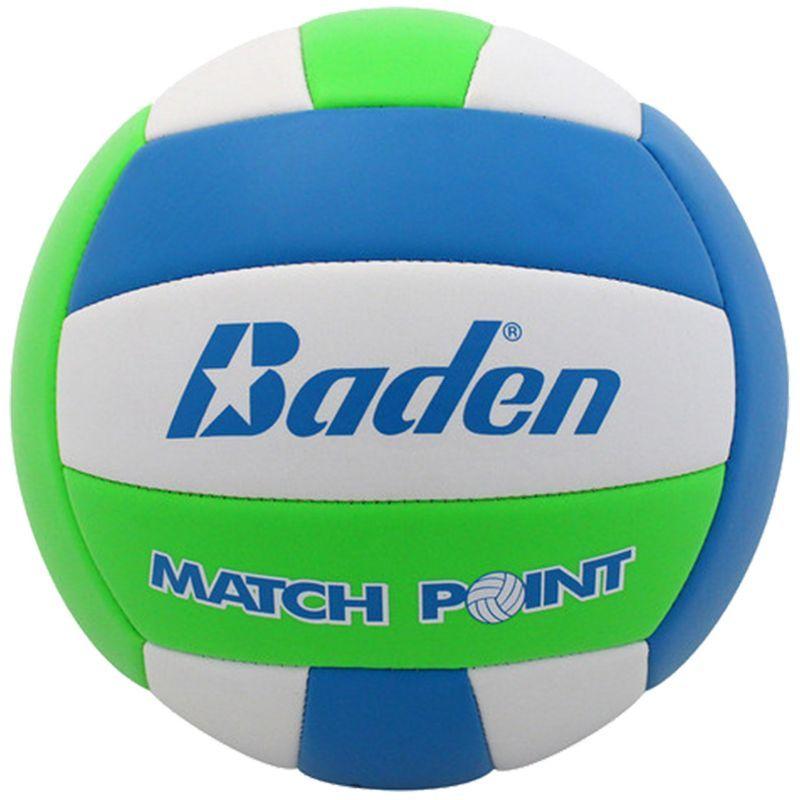 Baden MatchPoint Neon Indoor/Outdoor Volleyball, Green