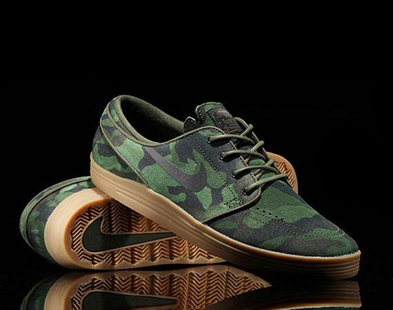 buy online 13b4c 8c7ac Nike SB Lunar Stefan Janoski - Camo sneakers