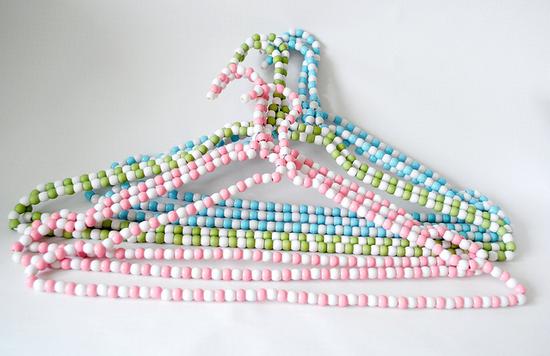 17 Decorative Clothes Hanger And Hook Tutorials Hanger Crafts
