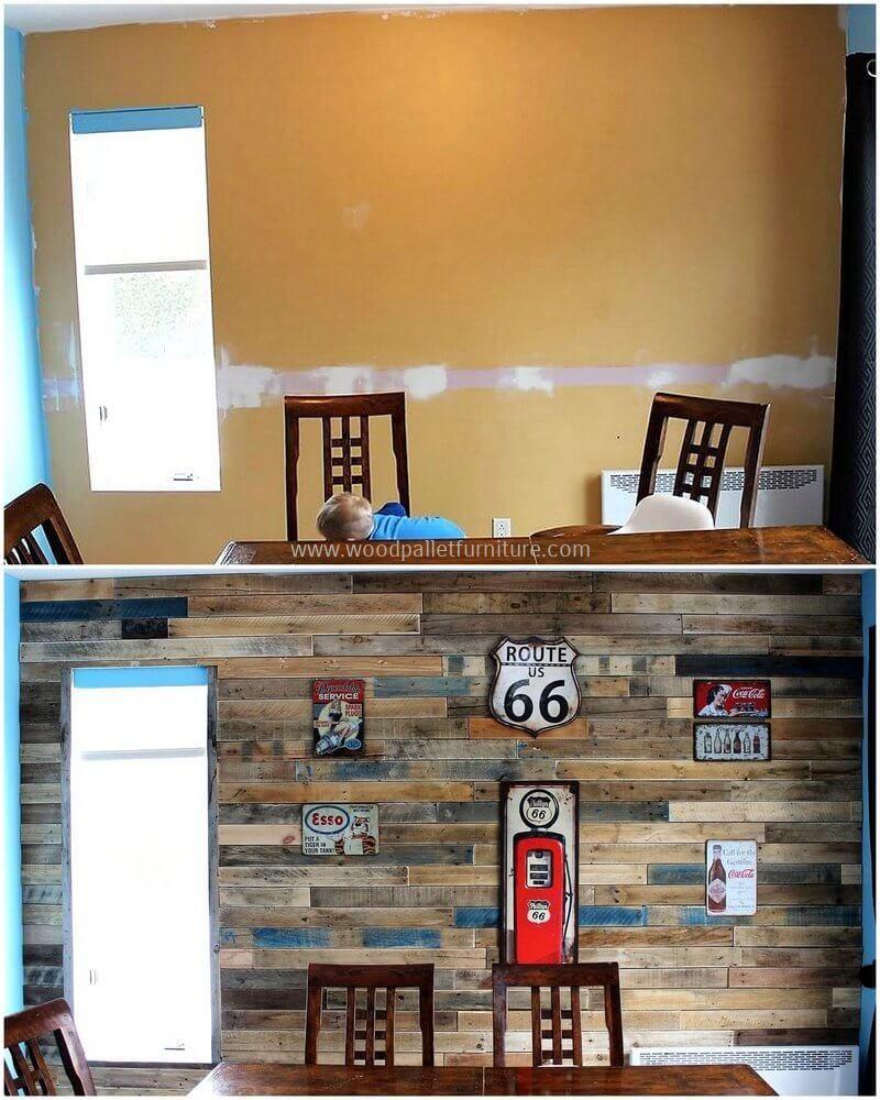 Diy wood pallet wall art ideas for the house pinterest pallet