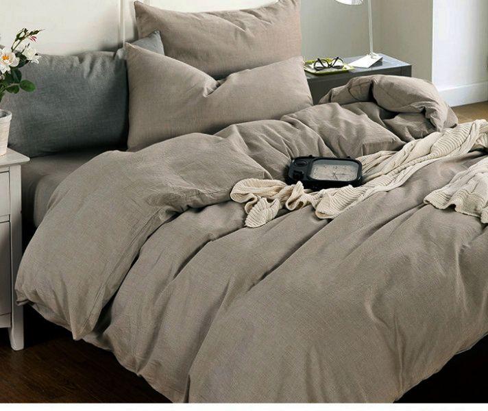 Dark Linen Duvet Cover Medium Weight Linen Linen Duvet Covers Linen Duvet Rustic Linen