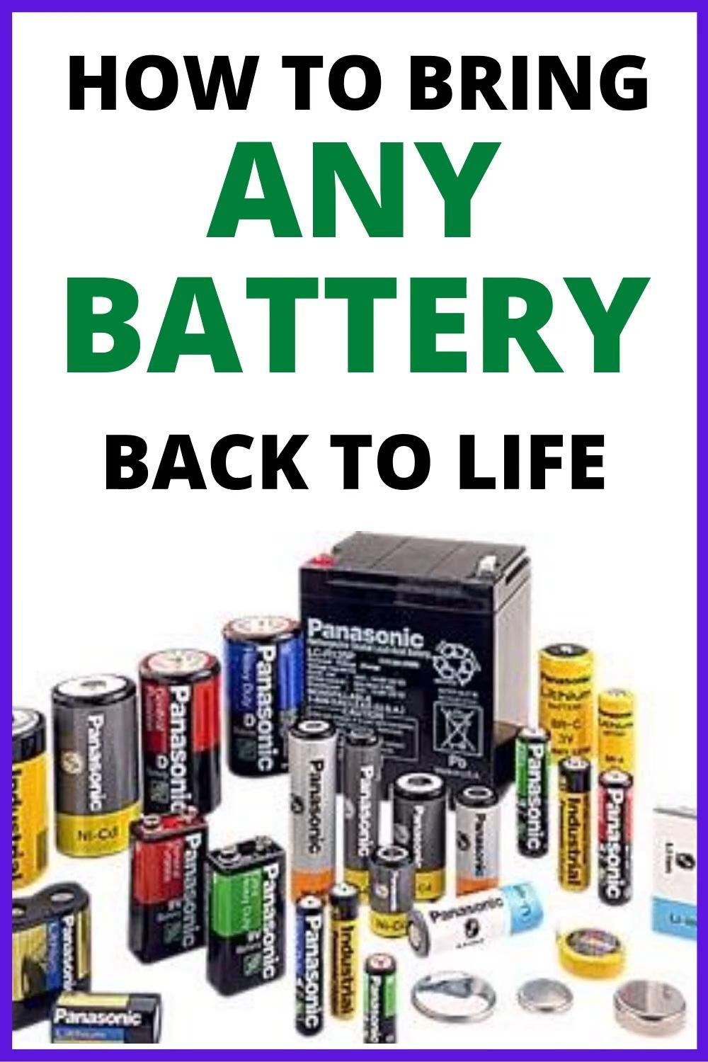 How To Restore A Battery Reconditioning Nicad Batteries Battery Reconditioning Business Fix It Video Battery Repair Batteries Diy Car Battery Hacks
