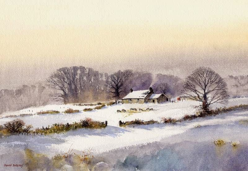 David Bellamy – Livening up your autumn and winter landscape paintings | Bellamy's Bivouac