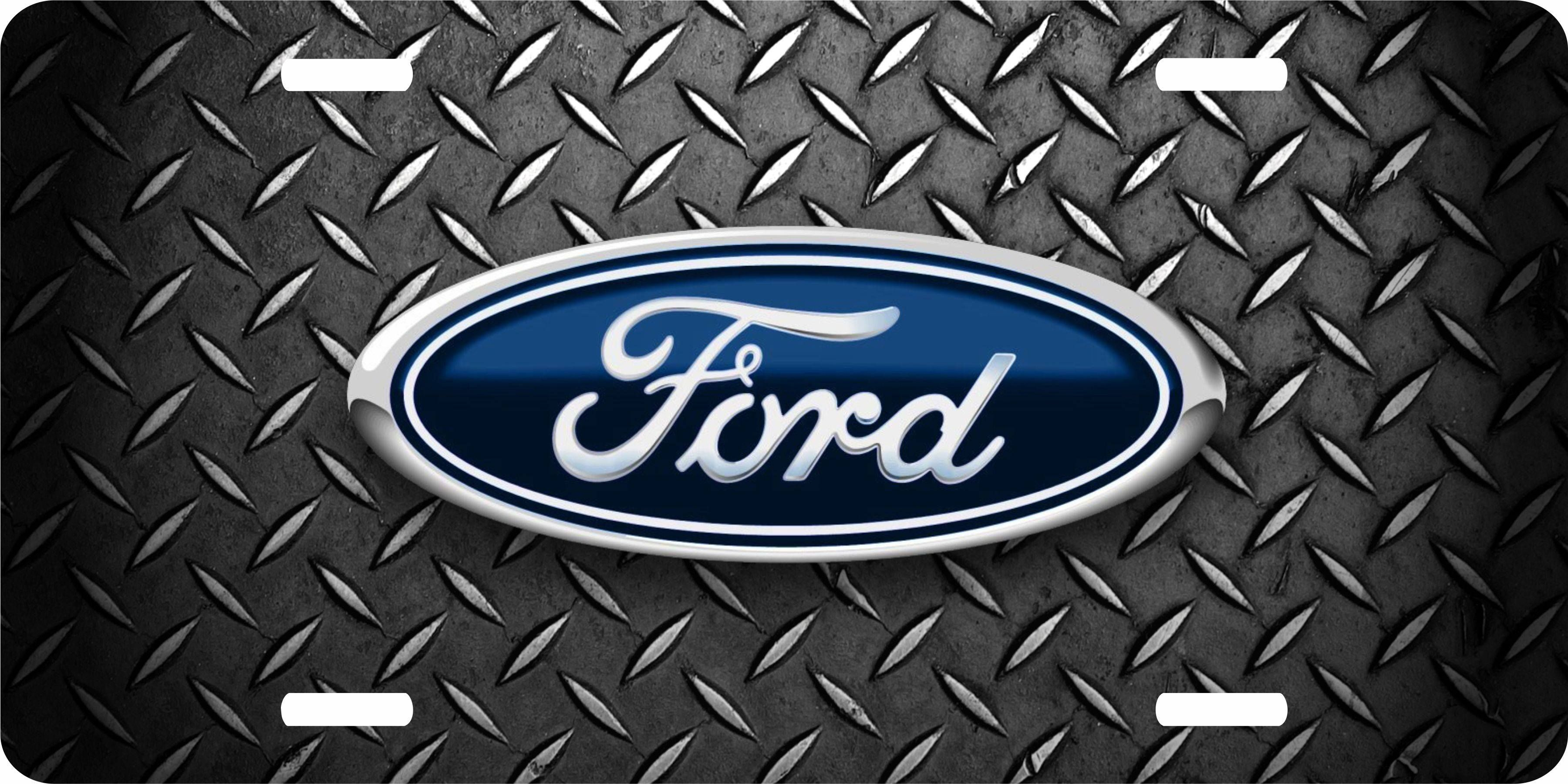 Ford Logo Army Four Wheel Hunt Novelty Animal Vanity Truck Car