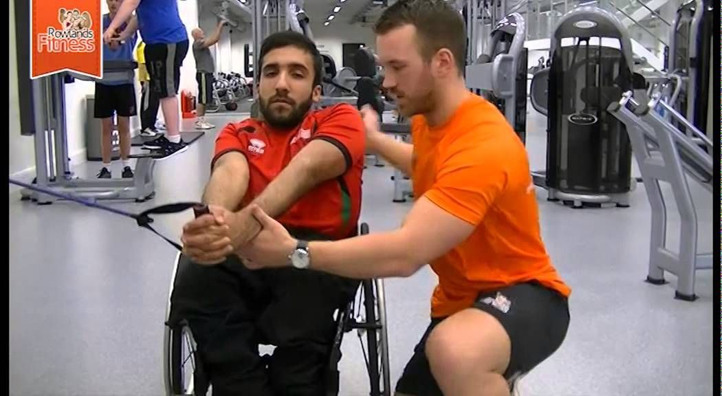 Abs Exercises For Disabled Or Wheelchair Users Wheelchair Exercises Abs Workout Wheelchair