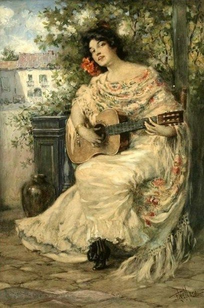 Francis Luis Mora (1874 – 1940)  title unknown