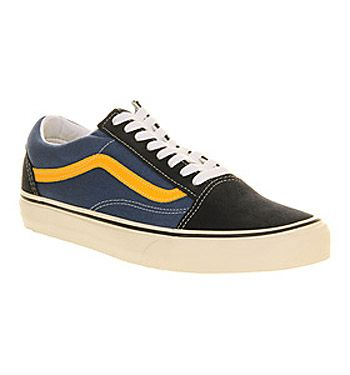 224ce9b230 Vans Old Skool Two Tone Navy Citrus - Unisex Sports - office