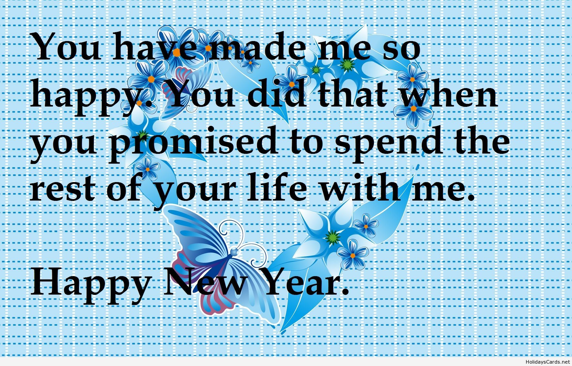 Romantic new year sms for wifes