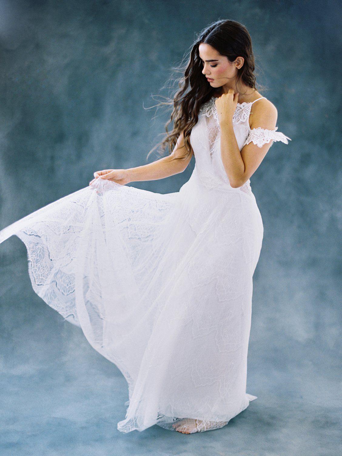 Teal and white wedding dresses  Poppyu  Wilderly Bride  wilderly bride  Pinterest  Bridal gowns