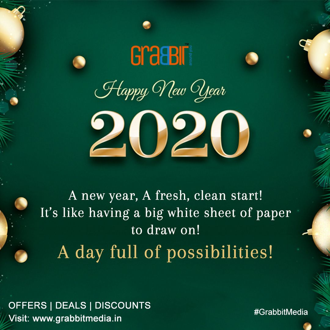 May This New Year Bring You Full Of Discounts Offers New Year