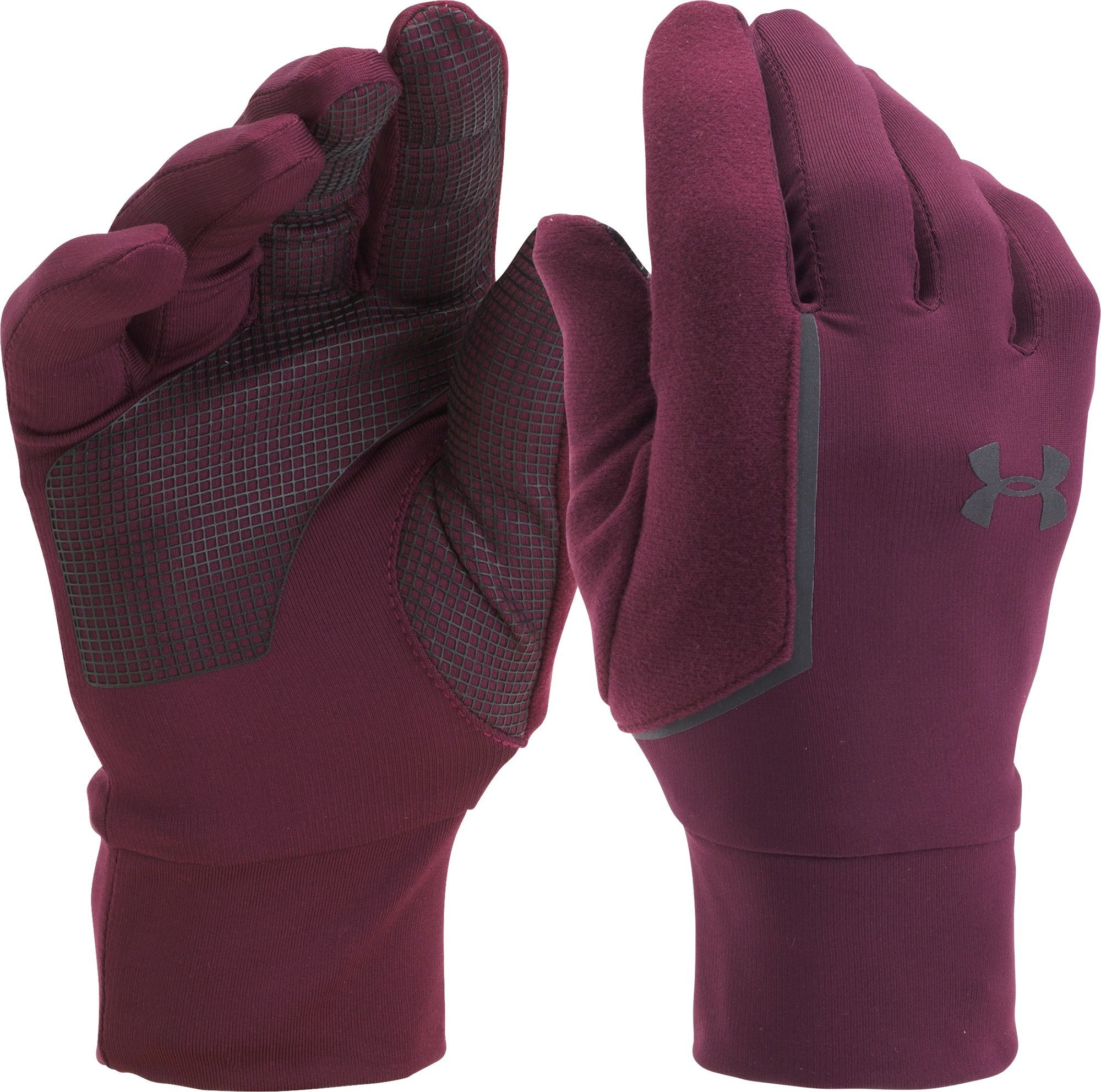 Under Armour Men's No Breaks Armour Liner Gloves, Size