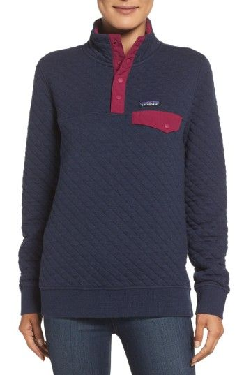 Patagonia Quilted Pullover Size Info Xs 0 2 S 4 6 M 8 10