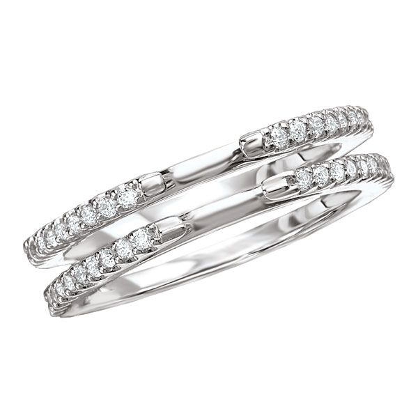 18k White Gold 32 Cttw Diamond Wedding Band Ring