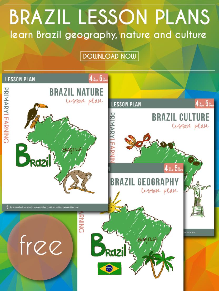 Free Printable Brazil Lesson Plans