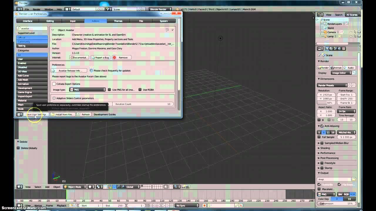 Avastar Second Life