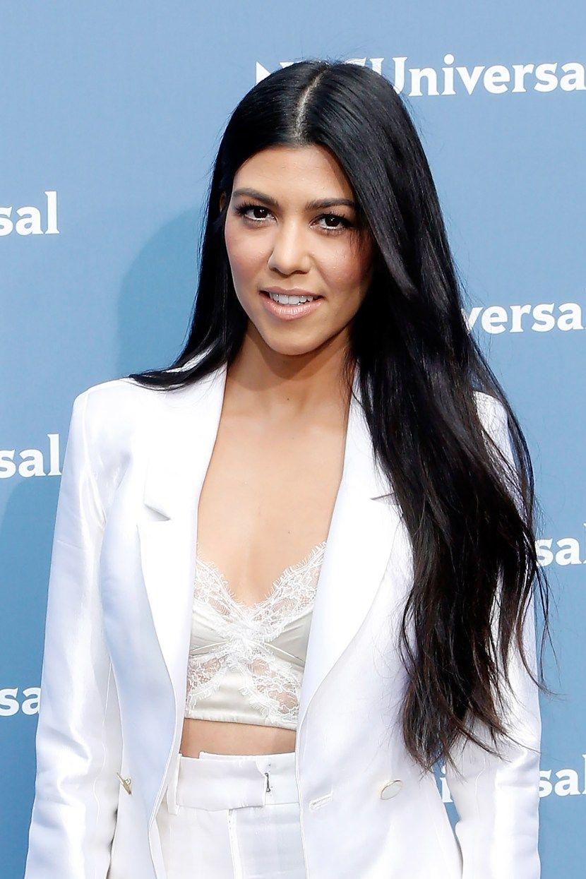 35 Times The Kardashian Jenners Were Hair Goals Long Hair Styles Kourtney Kardashian Hair Long Black Hair