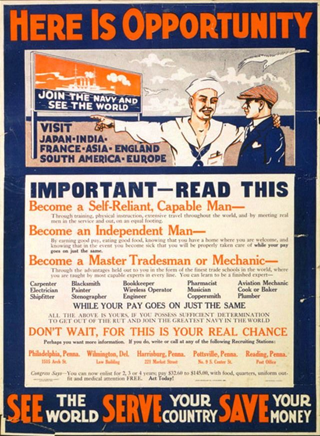 40 Awesome Vintage Navy Recruiting Posters In The Navy Pinterest