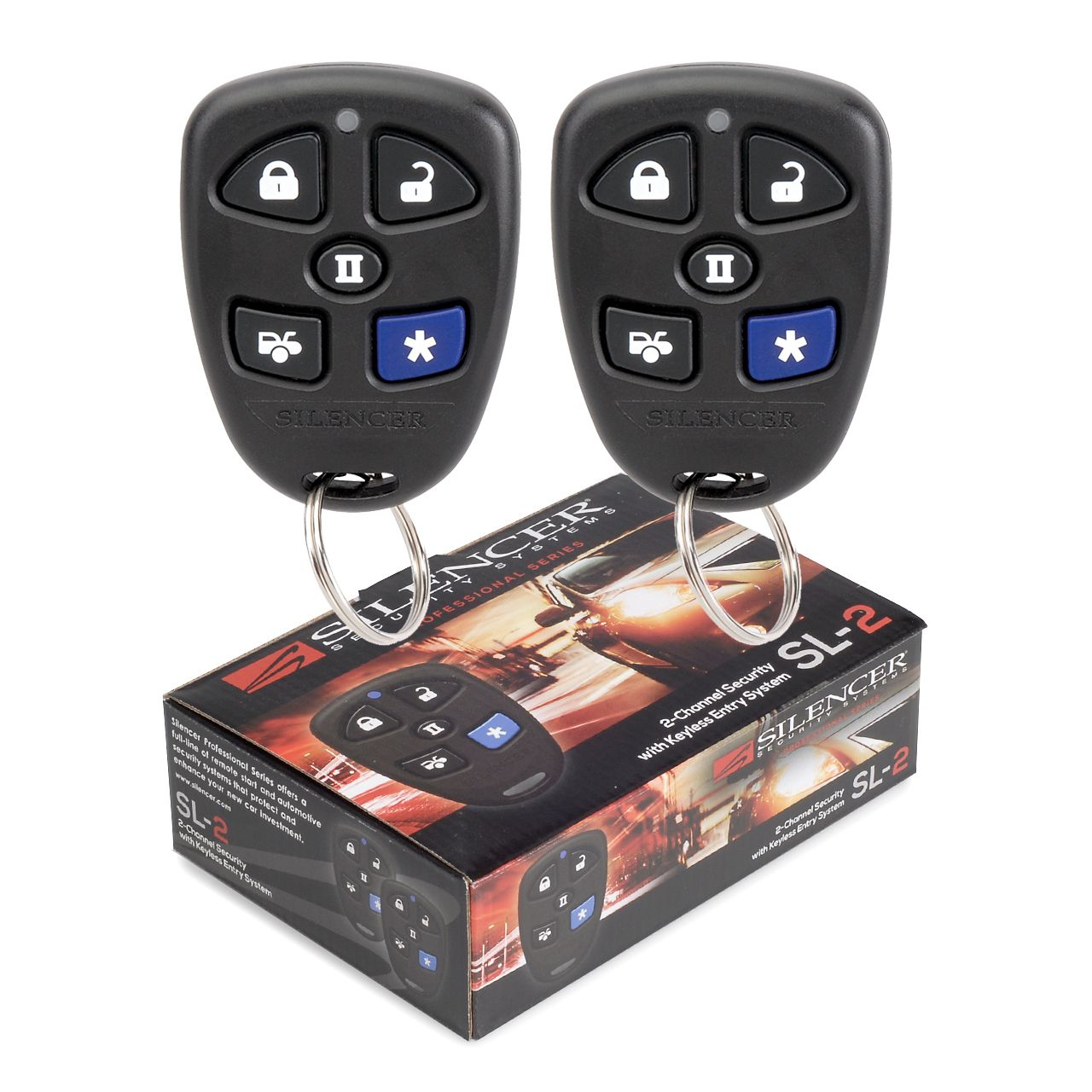 Silencer SL2 2 Channel Security System no siren