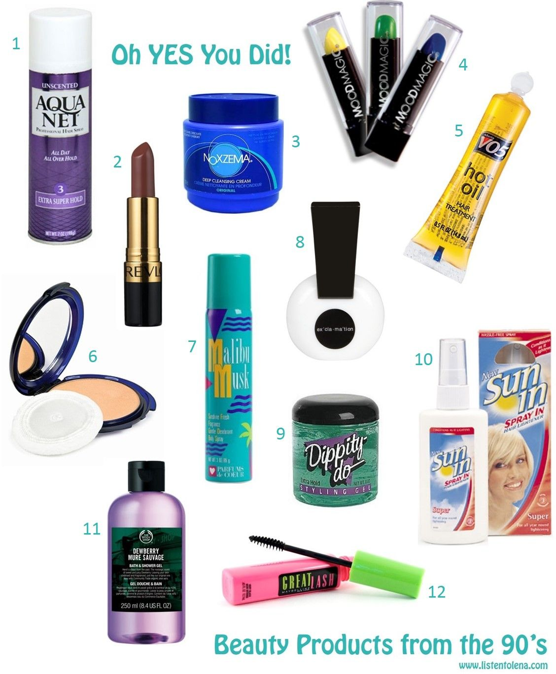 beauty products 90s 1