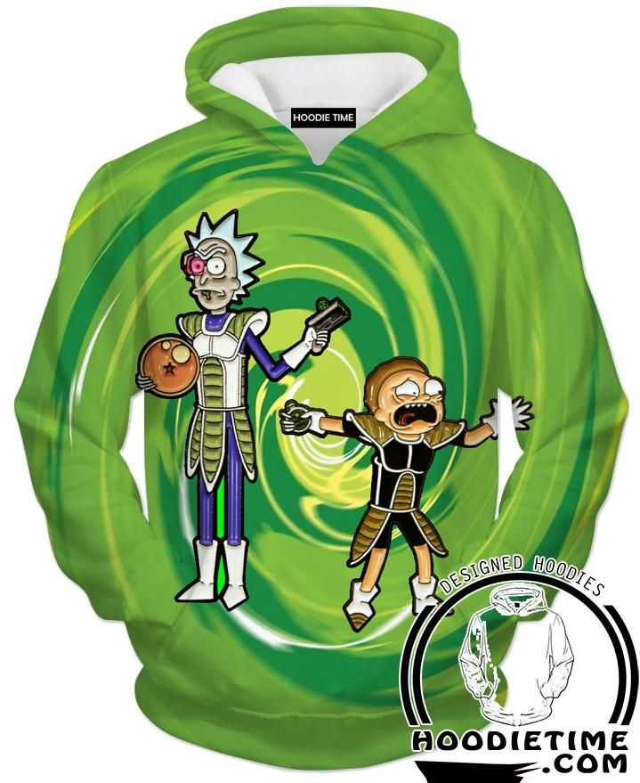 fdc6153c Rick and Morty Shirts - Dragon Ball Cross T-Shirt - Full Printed Clothing