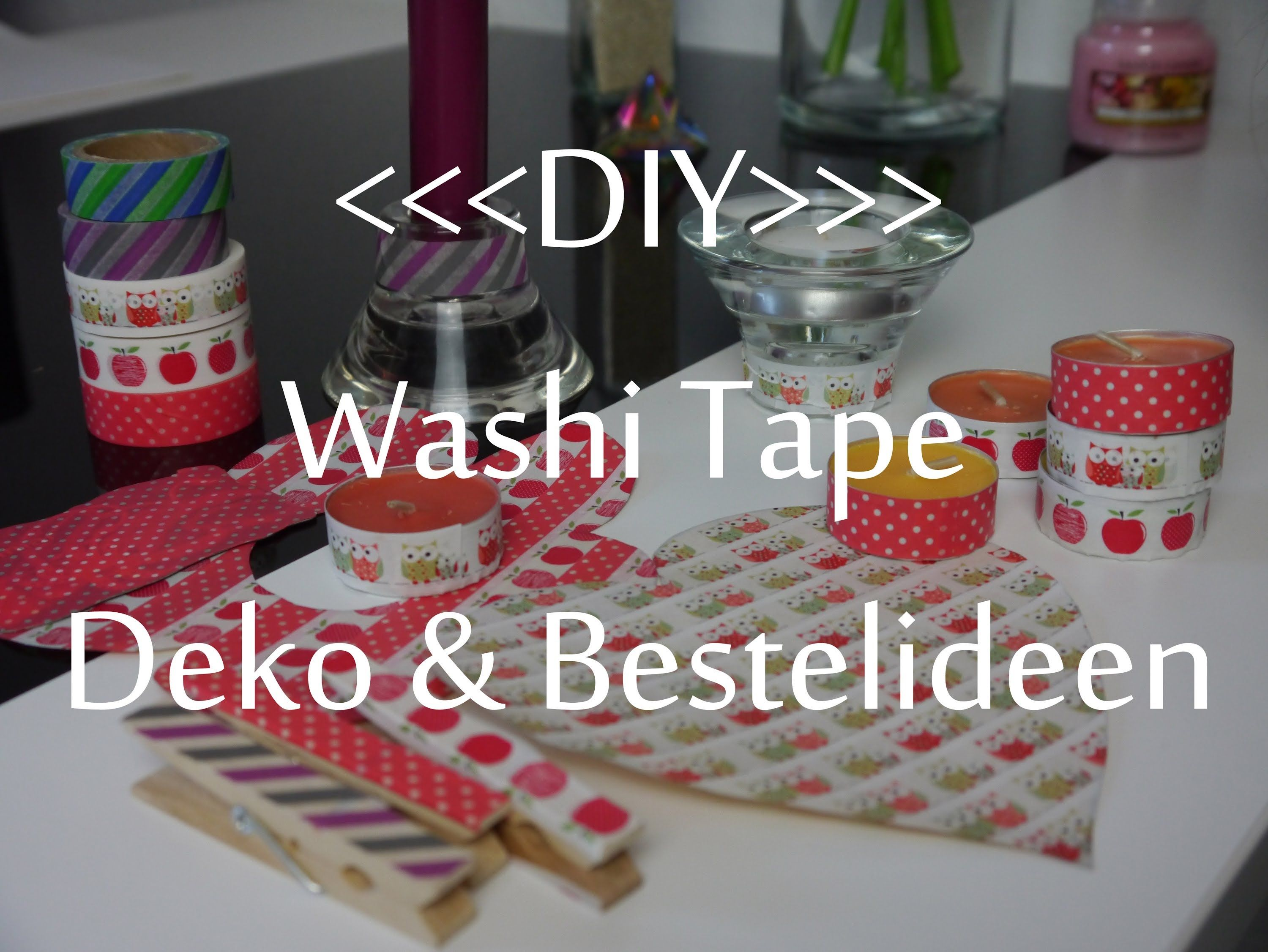 Washi tape bastelideen my detraiteurvannederland blog - Washi tape bastelideen ...
