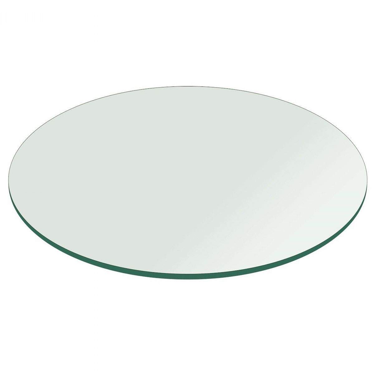 36 Inch Round Glass Table Top 1 4 Inch Thick Clear Tempered Glass With Flat Edge Polished Walmart Com W Round Glass Table Round Glass Table Top Glass Table 36 round glass table top