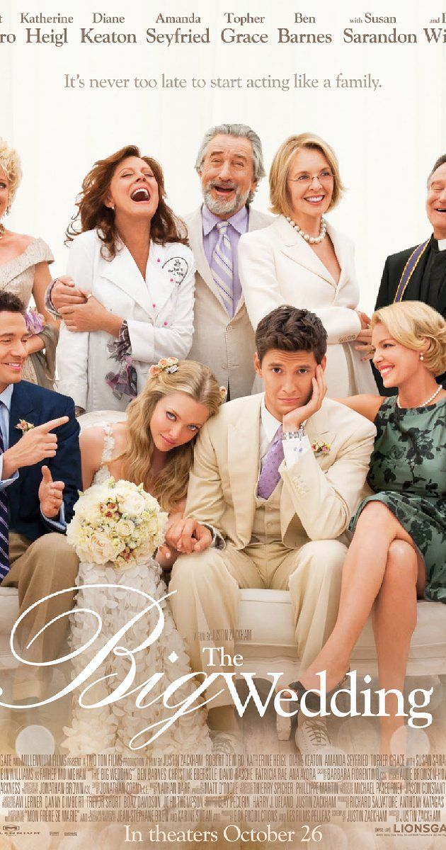The Big Wedding (2013) filmmüzikkitaplar Directed by