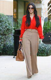 Kim Kardashian Button Down Shirt