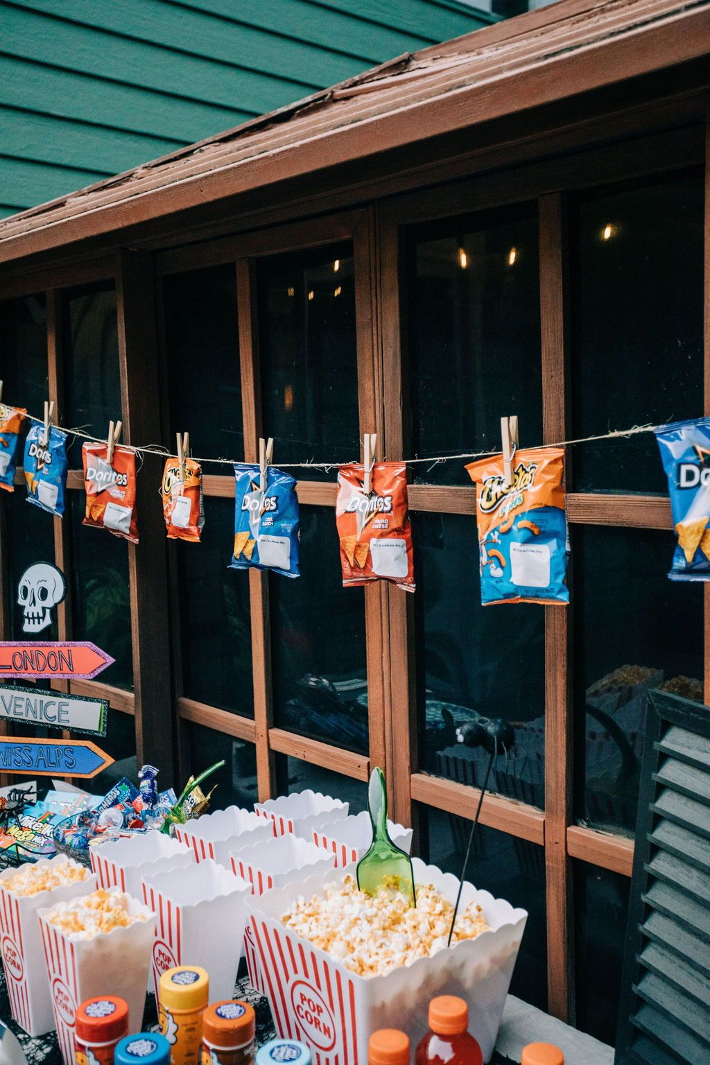Outdoor SpiderMan Far From Home Movie Night & Printables